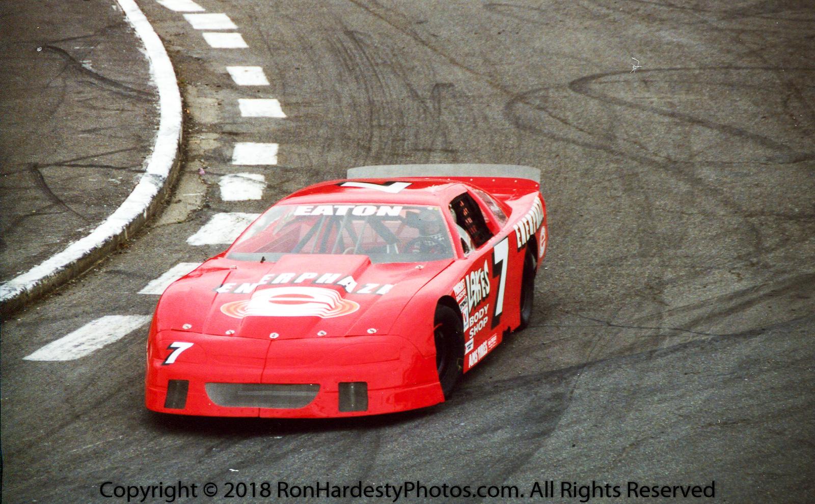 Driver Ron Eaton
