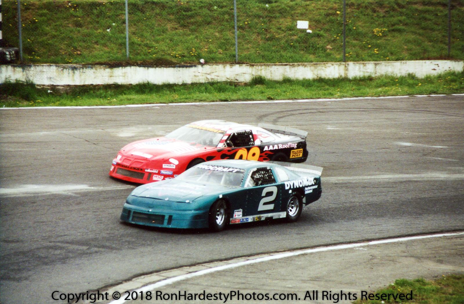 Drivers Jim Losch & Josh Bradbury