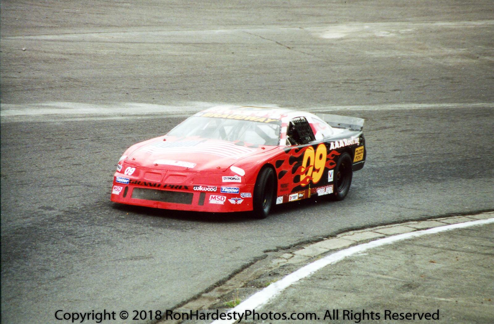 Driver Josh Bradway
