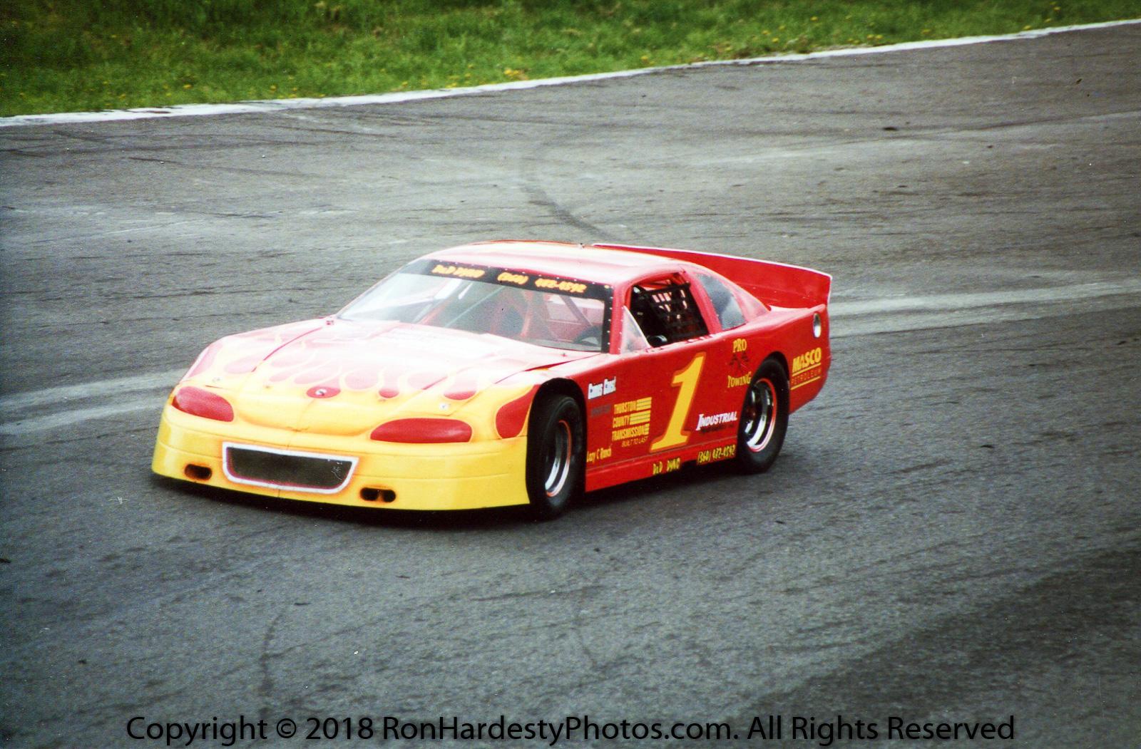 Driver Tom Sweatman