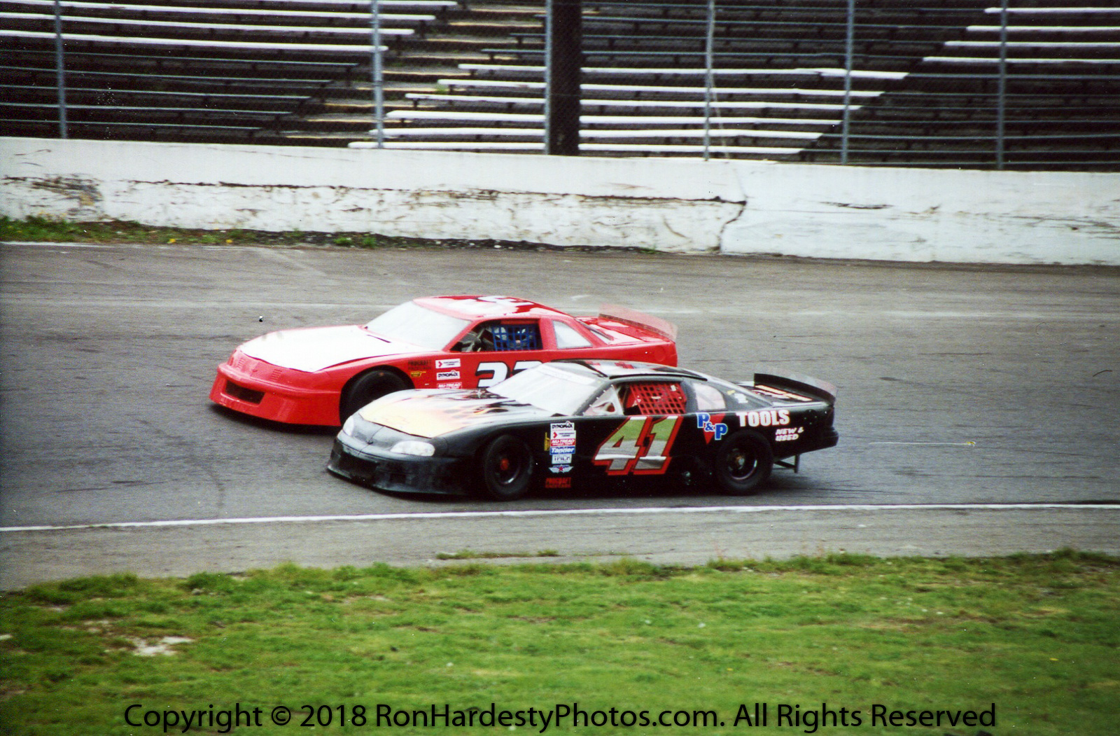 Drivers Kevin Carver & Josh Braudway
